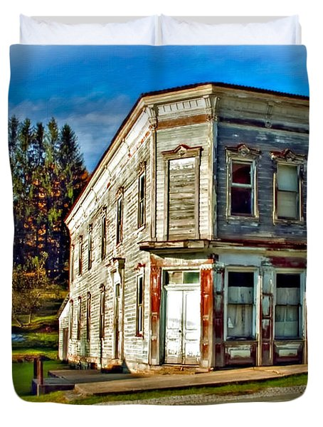 Pickens Wv Painted Duvet Cover by Steve Harrington