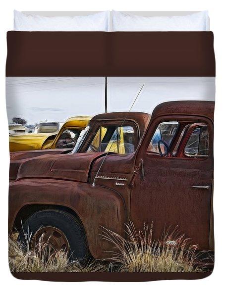 Pickup Cabs 2 Duvet Cover