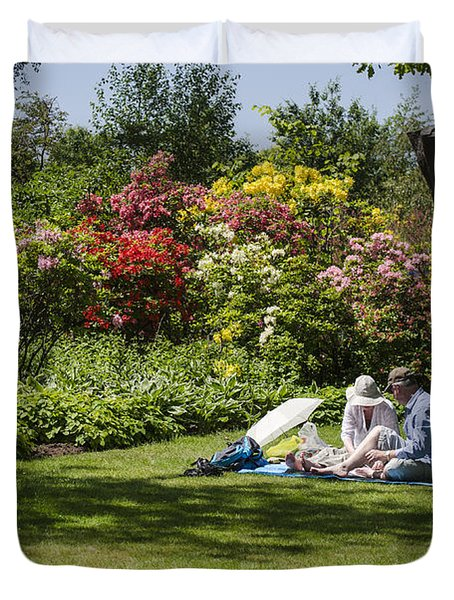 Summer Picnic Duvet Cover