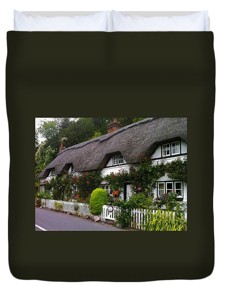Picturesque Cottage Duvet Cover