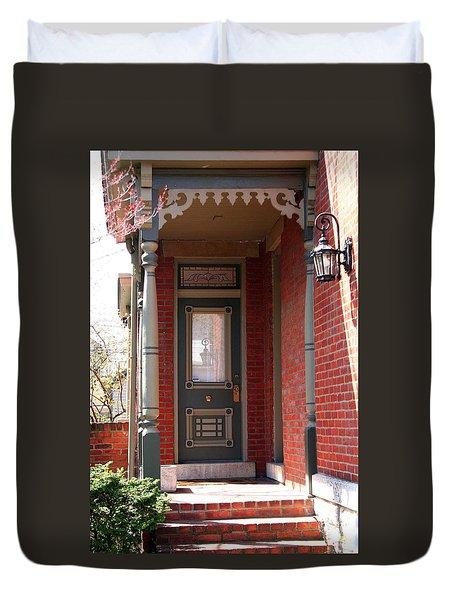 Picturesque Porch Duvet Cover