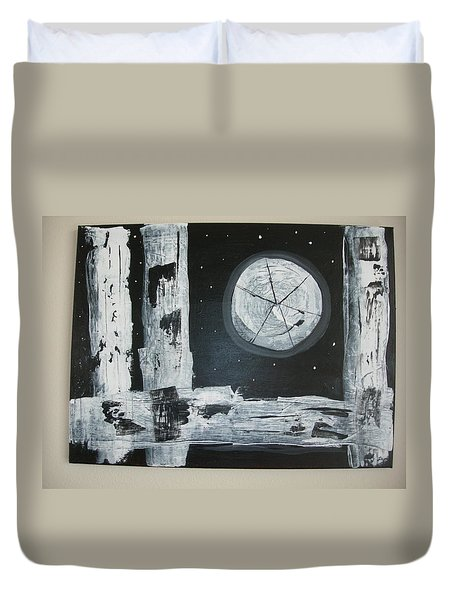 Pie In The Sky Duvet Cover by Sharyn Winters