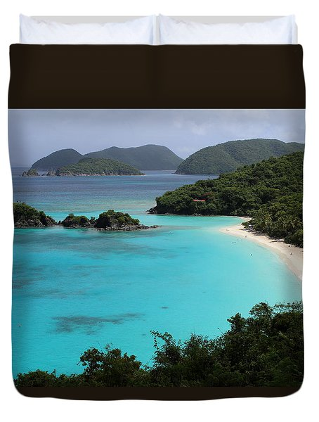 Piece Of Paradise Duvet Cover