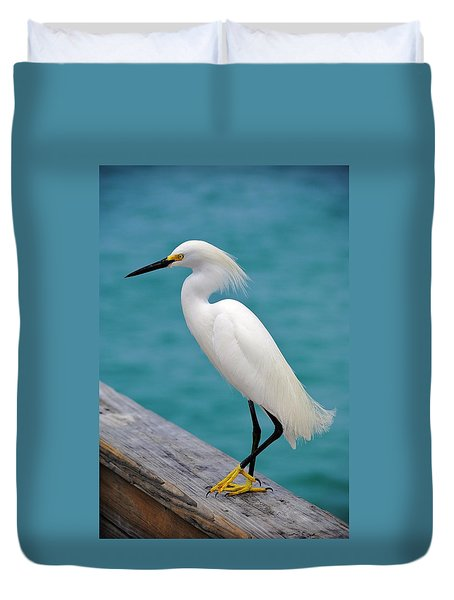 Pier Bird Duvet Cover