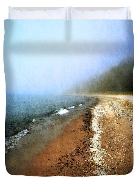 Pier Cove Beach Duvet Cover