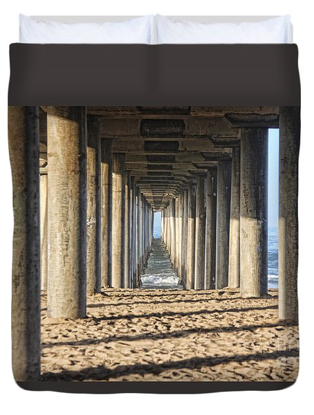 Pier Duvet Cover by Tammy Espino