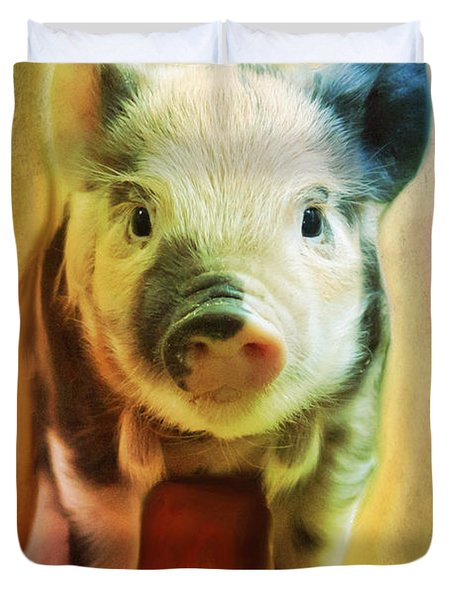 Pig Is Beautiful Duvet Cover