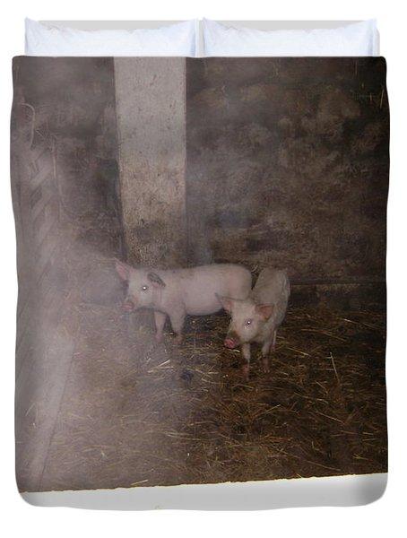 Piggies Duvet Cover