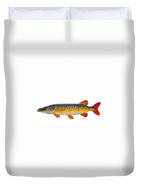 Pike Duvet Cover by Carey Chen
