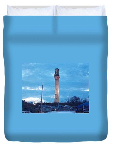 Pilgrim Tower Duvet Cover