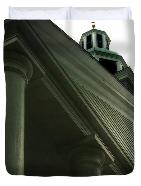 Pillar Church Duvet Cover