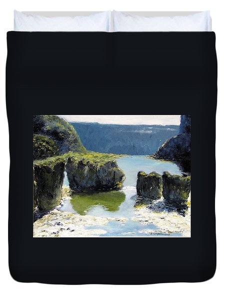 Pillar Falls Duvet Cover
