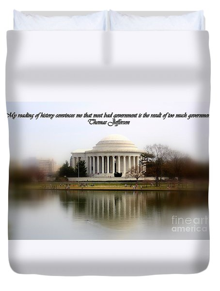 Pillars Of Strength Duvet Cover