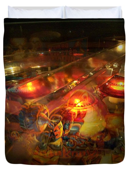 Pinball IIi Duvet Cover by Lanita Williams