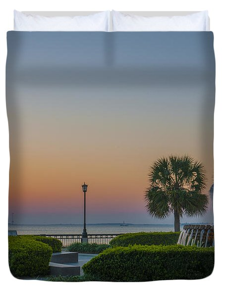 Dawns Light Duvet Cover by Dale Powell