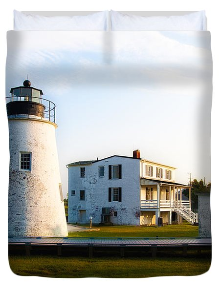 Piney Point Maryland Duvet Cover