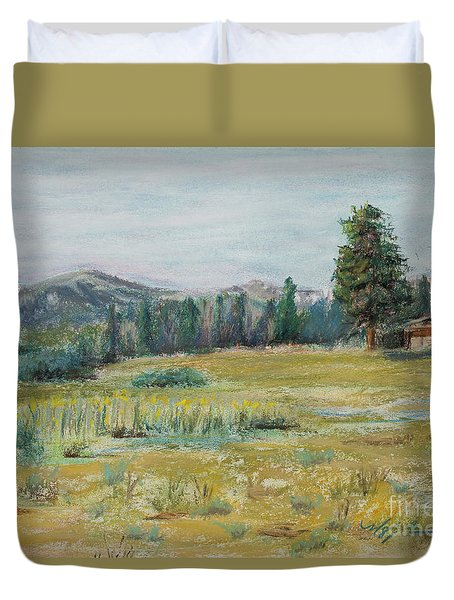 Pingree Park Duvet Cover by Mary Benke