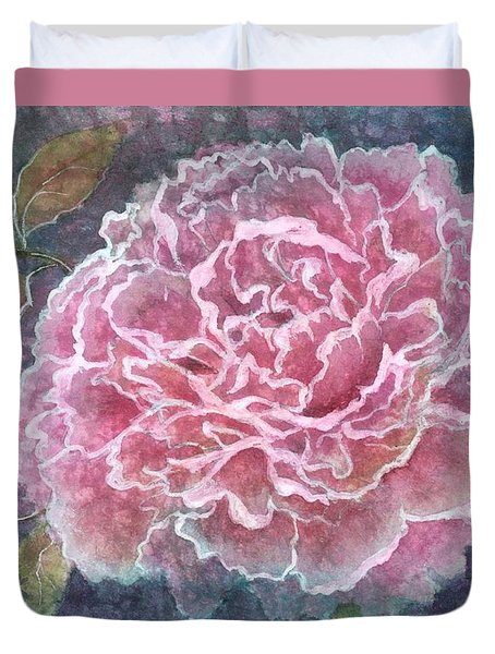 Pink Beauty Duvet Cover by Barbara Jewell