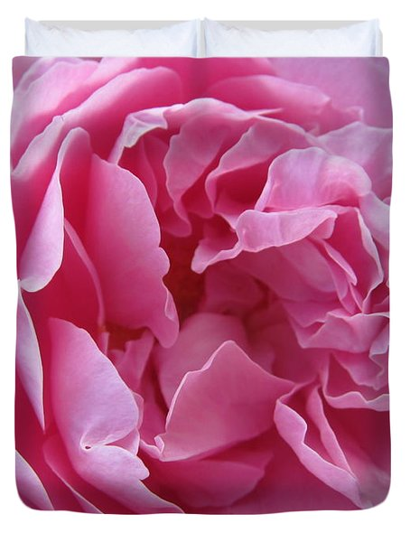 Duvet Cover featuring the photograph Pink Beauty by Pema Hou