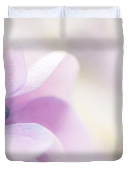 Pink Cloud Duvet Cover by Anne Gilbert