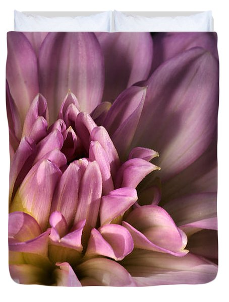 Pink Dahlia's Dream Duvet Cover