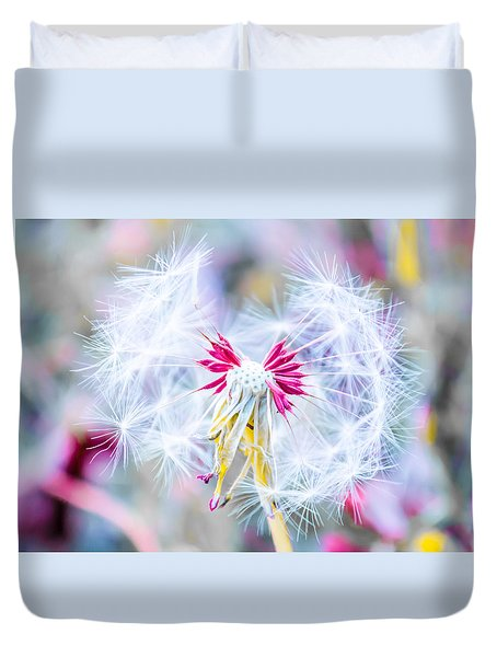 Magic In Pink Duvet Cover