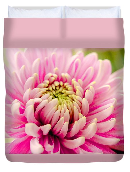 Duvet Cover featuring the photograph Pink Passion by Dennis Baswell