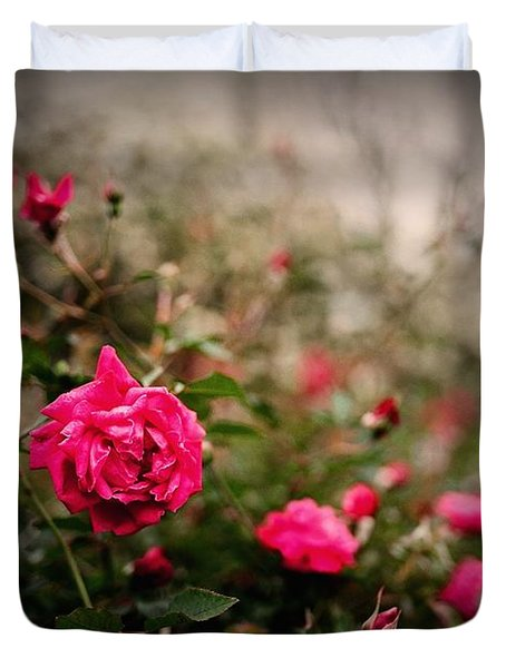 Pink Heaven Duvet Cover by Linda Unger