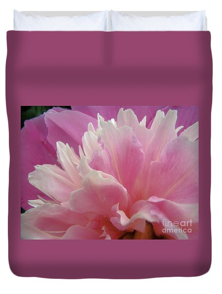 Pink Duvet Cover by Kristine Nora