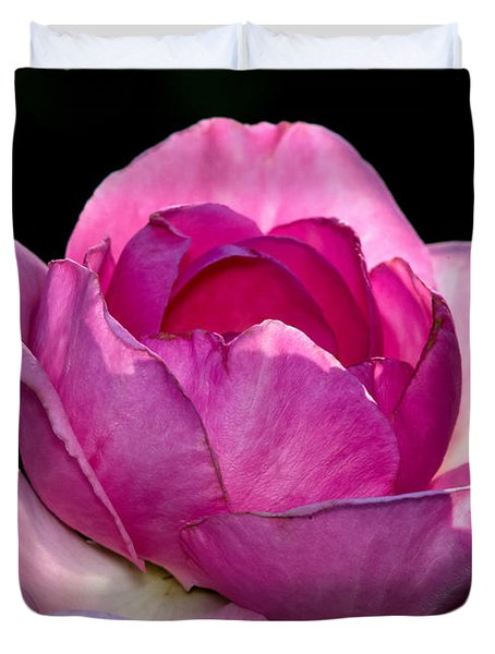 Pink Light Duvet Cover