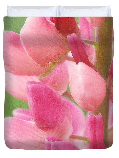 Pink Lupine 974 Duvet Cover