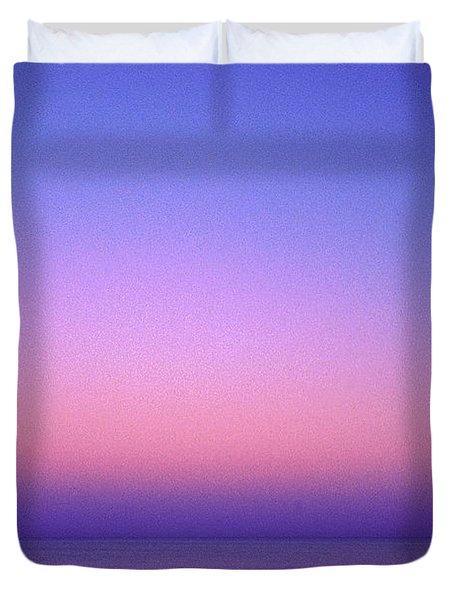 Pink Ocean Duvet Cover