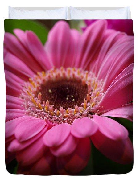 Pink Petal Explosion Duvet Cover
