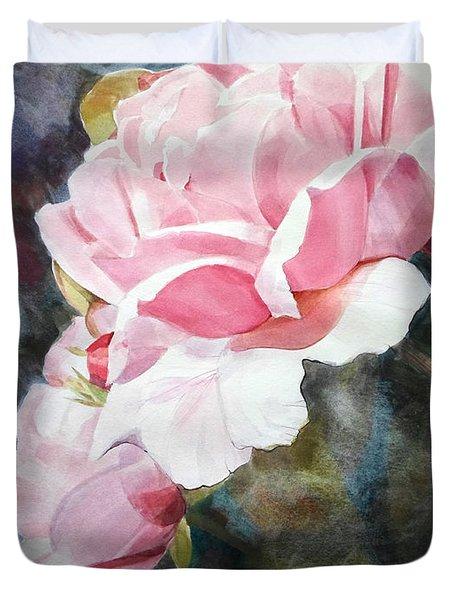Pink Rose Caroline Duvet Cover