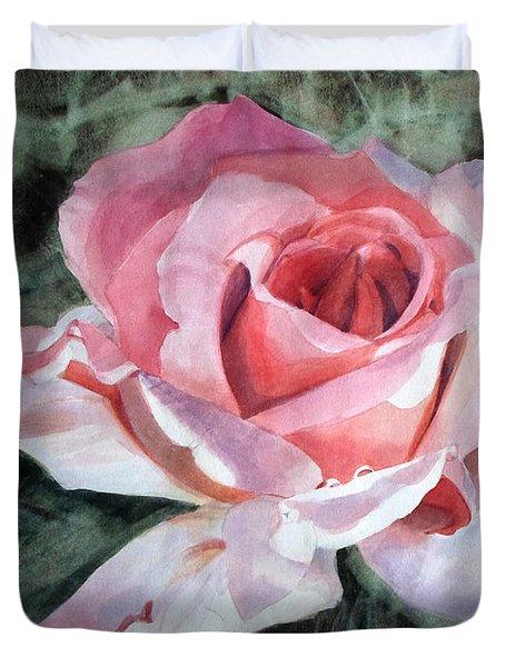 Pink Rose Greg Duvet Cover