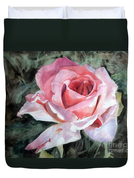 Pink Rose Greg Duvet Cover