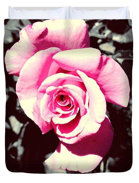 Pink Rosetta  Duvet Cover