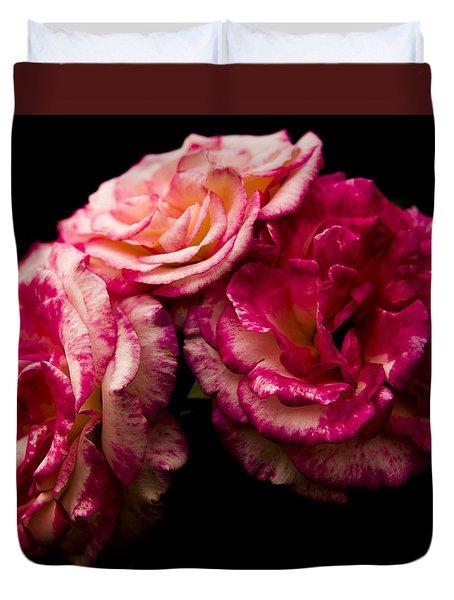 Pink Solitude Duvet Cover