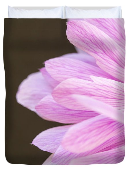 Pink Waves Duvet Cover