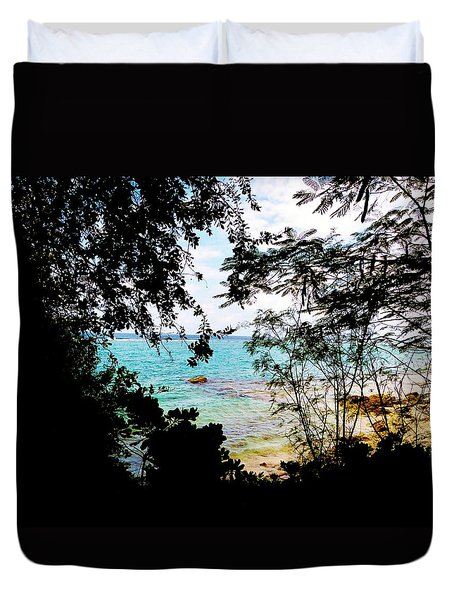 Duvet Cover featuring the photograph Picturesque by Amar Sheow