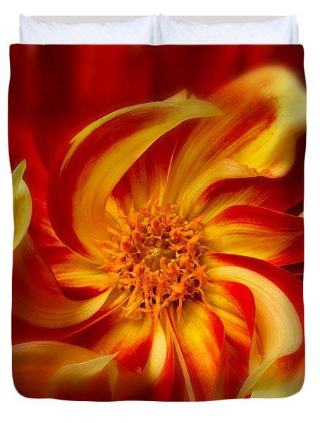 Pinwheel Duvet Cover