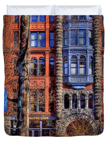 Pioneer Square No.1 Duvet Cover