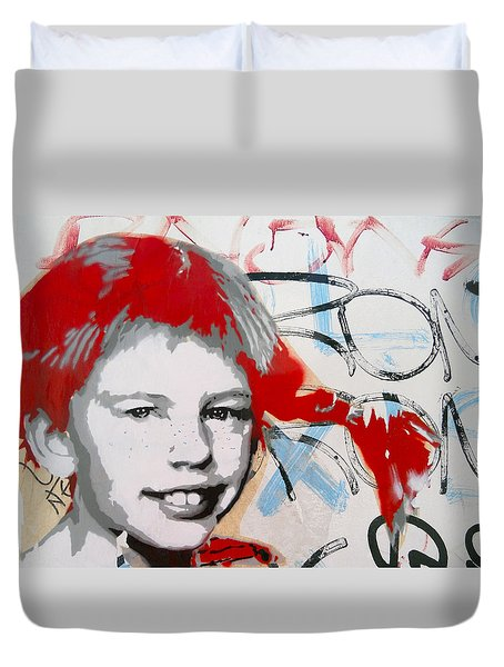 Pippi Longstocking  Duvet Cover by Juergen Weiss