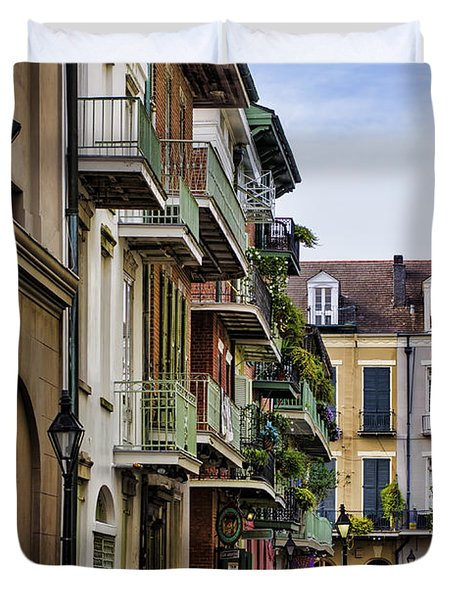 Pirates Alley Duvet Cover