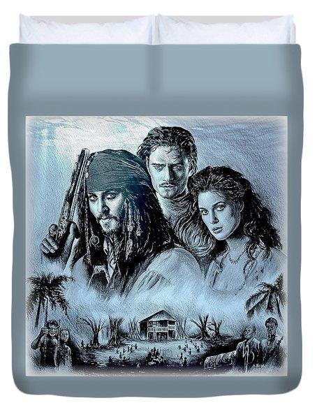 Pirates Duvet Cover