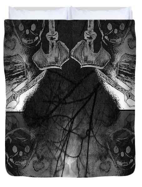 Pirate's Keepsake Duvet Cover by Maria Urso
