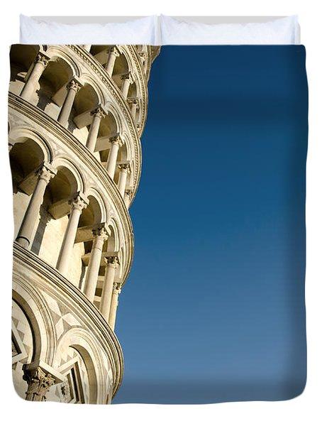 Pisa Tower Duvet Cover by Mats Silvan