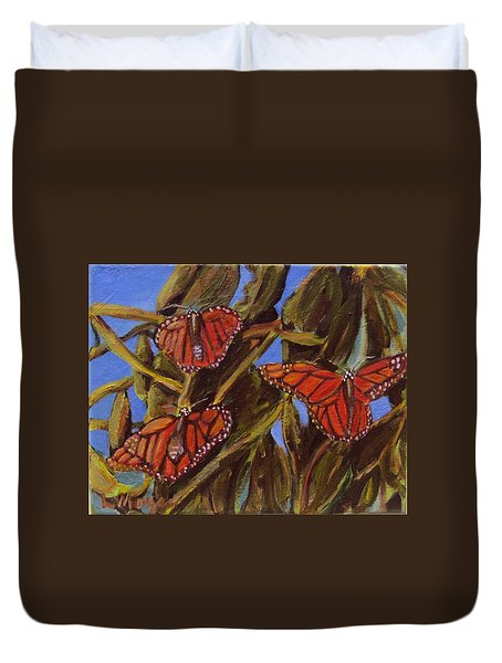 Pismo Monarchs Duvet Cover