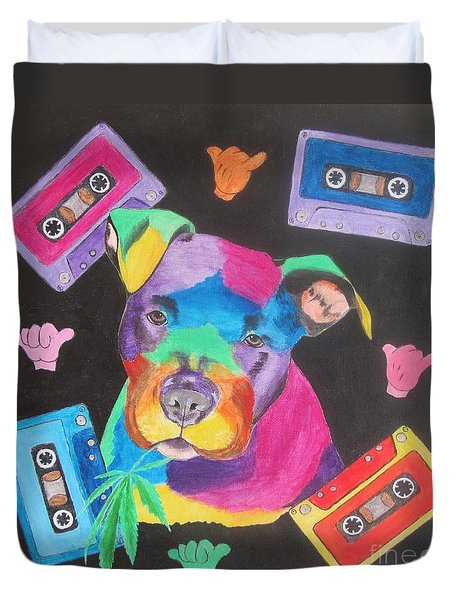 Pitbull Duvet Cover by Jeepee Aero
