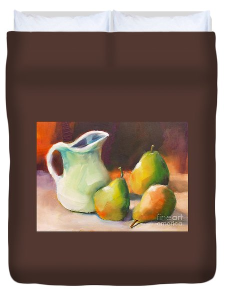 Pitcher And Pears Duvet Cover